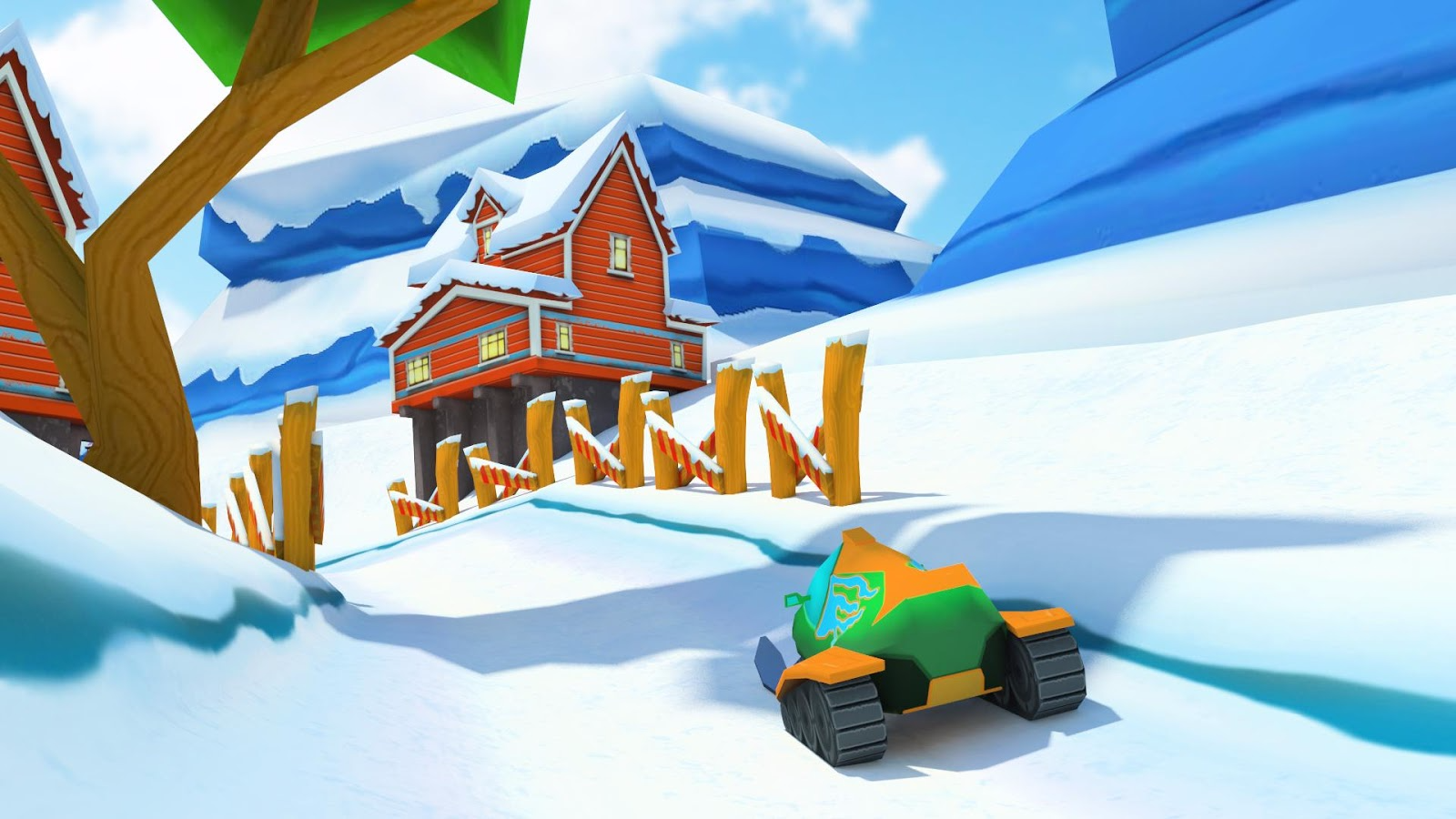 模拟雪橇VR图1