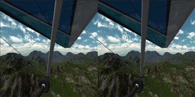 悬挂式滑翔VR图2