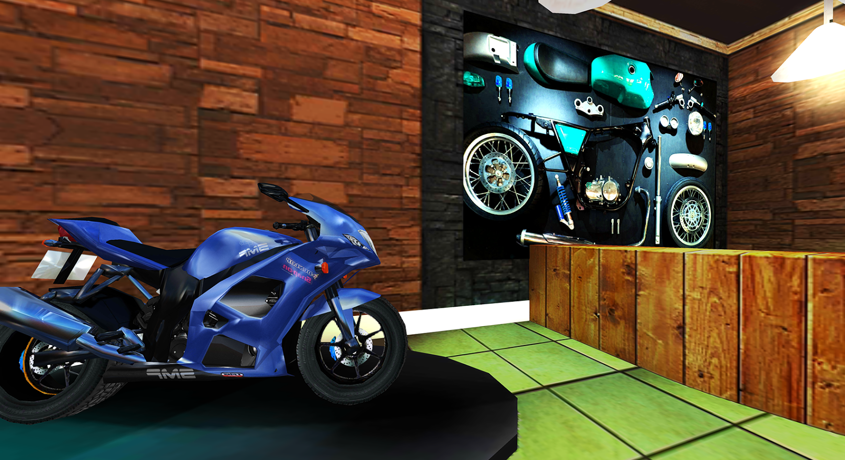 VR摩托车图3