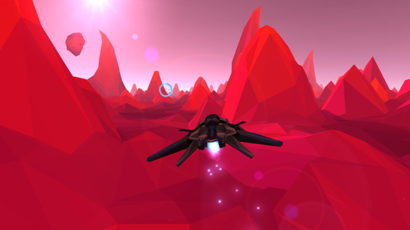 飞船跑酷VR图1