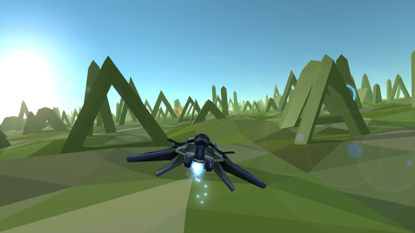 飞船跑酷VR图2
